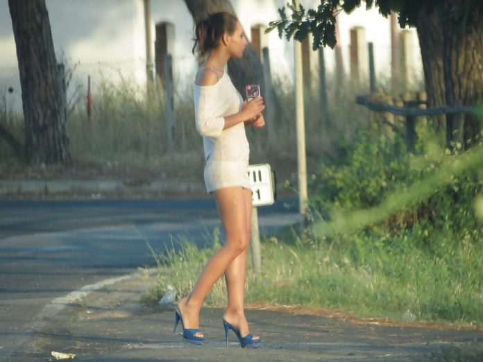 Przygoda z przydrożną prostytutką